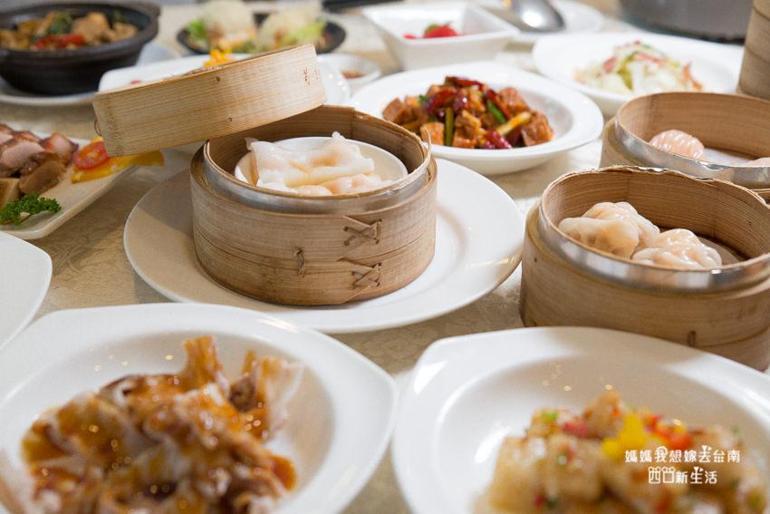 【台南美食】吃到飽料理推薦!中、港、台式料理,台南大飯店中餐廳 食選任意點