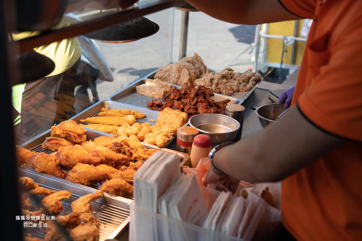 【台南美食】台南好吃炸雞! 仁德起家小有名氣的炸雞店!! 五湖黃昏市場內也有唷~~Yummy亞米脆皮炸雞店