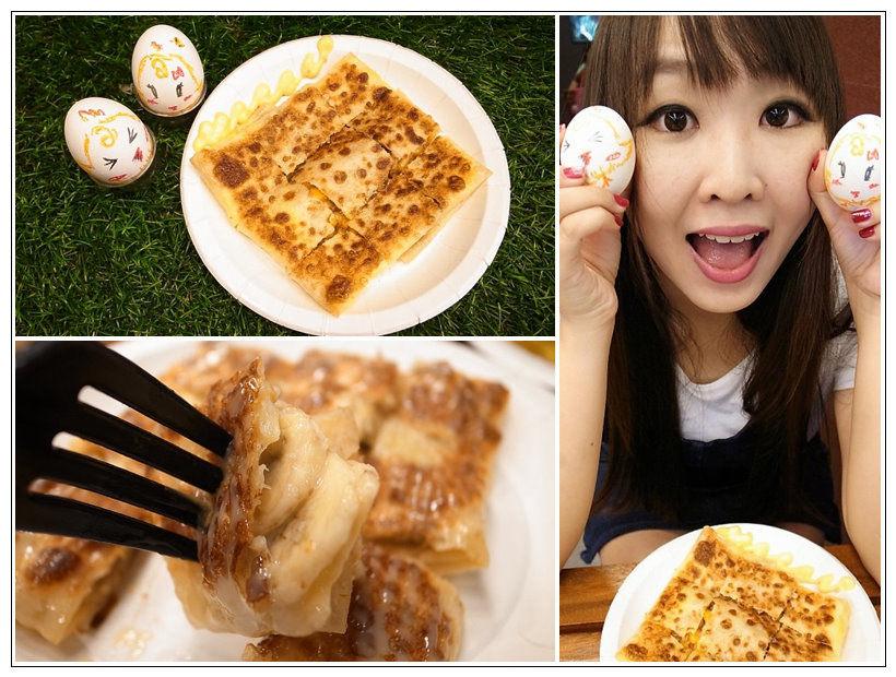 【台南永康】酥脆酥脆的泰式煎餅,甜甜的台南泰早安 香蕉煎餅&泰式奶茶
