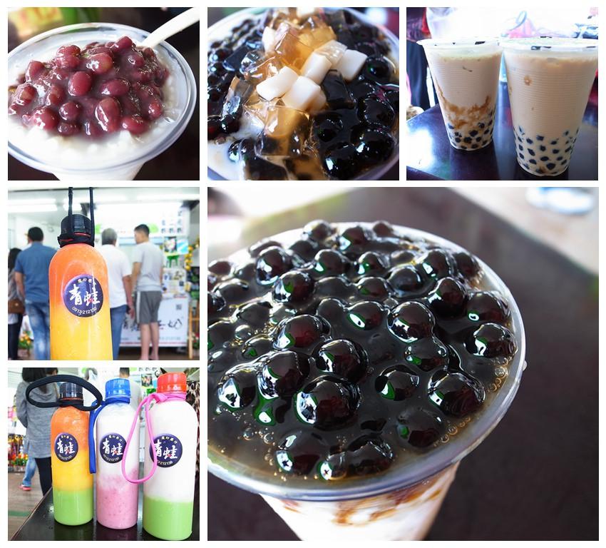 【台南中西區】香醇濃郁的黑糖奶+大波霸→青蛙黑蛋奶!全新上市青蛙魔幻果汁~